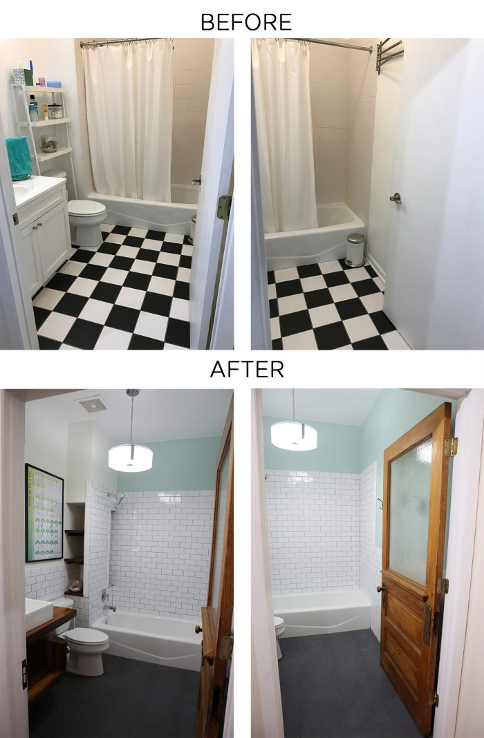 bathroom remodel, bathroom before and after