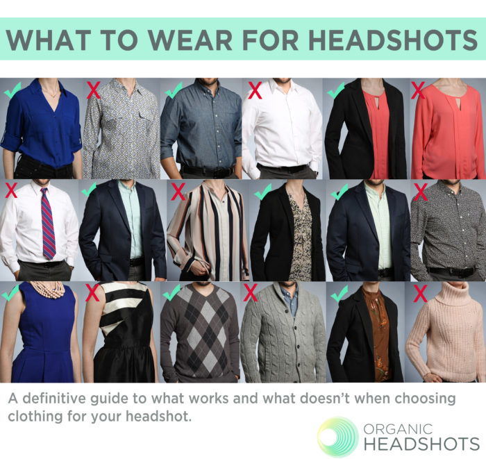 What to wear for headshots
