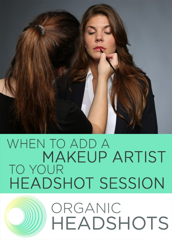 makeup artist, headshot session